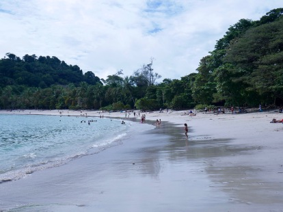 the beautiful Playa Manuel Antonio