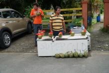 pipa fria outside of Manuel Antonio Nature Park