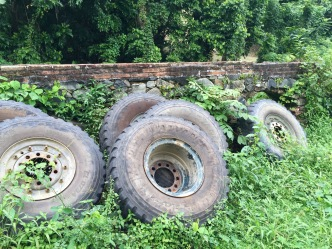 is this a giant tire graveyard??