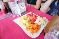 fresh fruit at Sunrise Breakfast