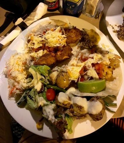 3-taco dinner at Tacobar