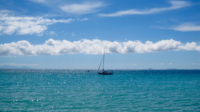 guadeloupe sainte anne beach boat travelnerdplans