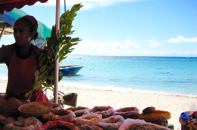 guadeloupe sainte anne beach spices travelnerdplans