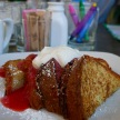 Cheeky's brioche French toast