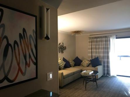 palm springs hilton living room travelnerdplans