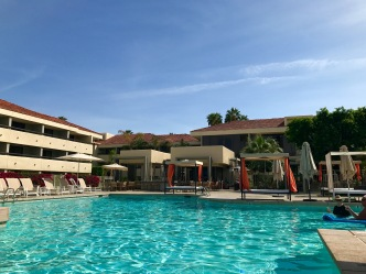 palm springs hilton pool travelnerdplans