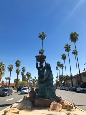 palm springs tahquitz canyon statue