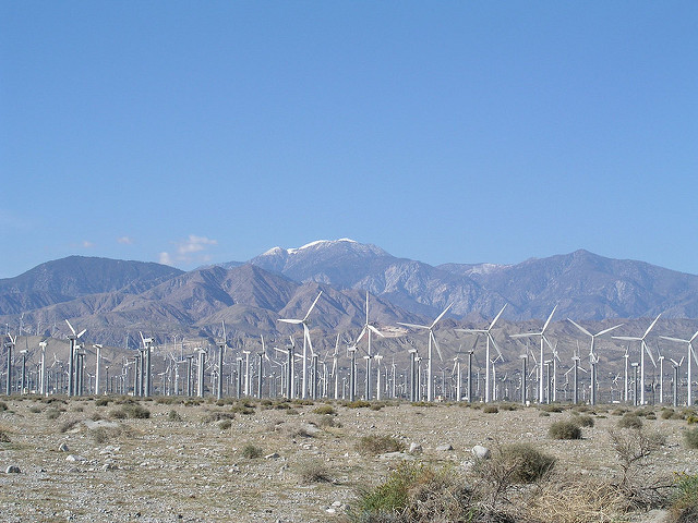 palm springs windmills by david schott