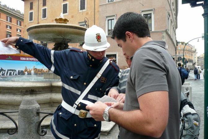 rome getting directions travelnerdplans