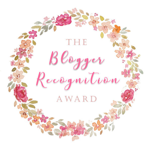 blogger recognition