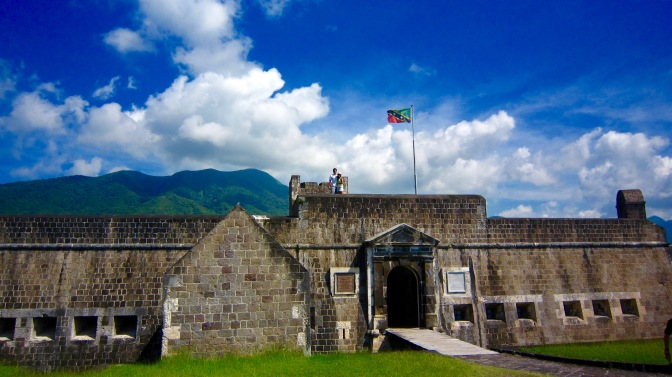 st kitts brimstone fortress flag travelnerdplans