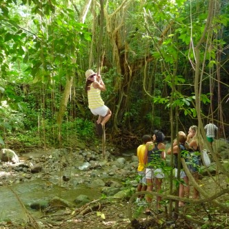 st kitts rainforest swing travelnerdplans