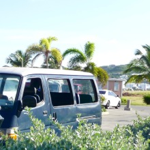 luxury open-air van