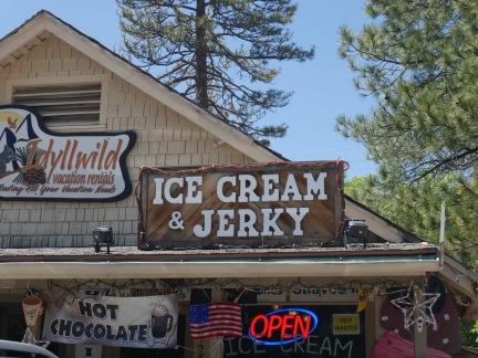 idyllwild ice cream and jerky