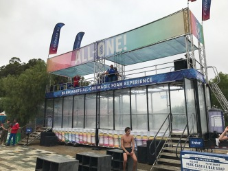 Dr. Bronner's All-One Magic Foam Experience