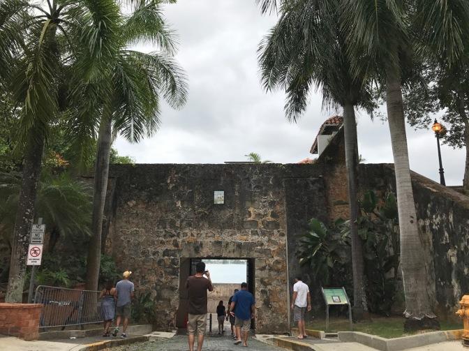 old san juan gate