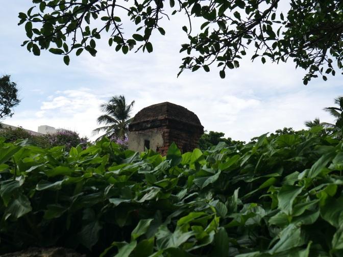 old wall at caribe