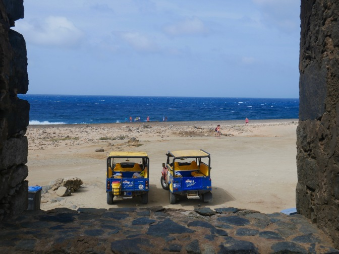aruba abc jeep from bushiribana