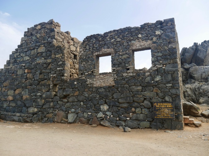 aruba bushiribana gold mill ruins