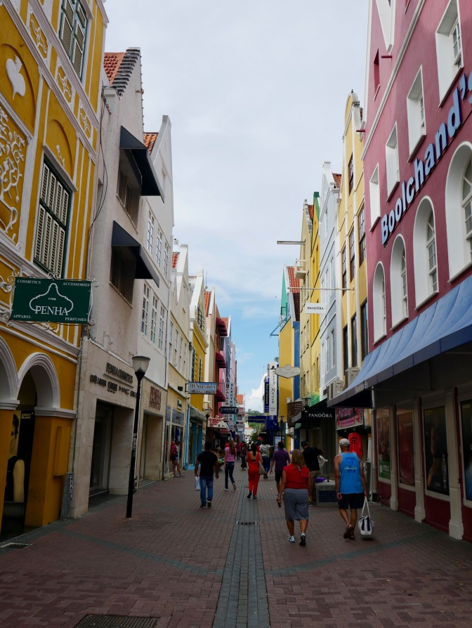 curacao colorful streets