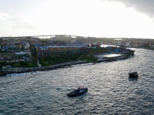 curacao coming into port 2