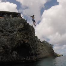 curacao playa forti jump 1
