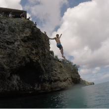 curacao playa forti jump 2