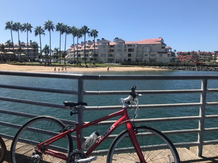 riding around Coronado
