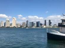 taking the ferry from San Diego to Coronado