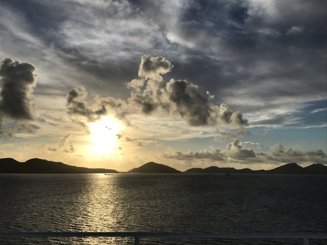 st kitts into port 2