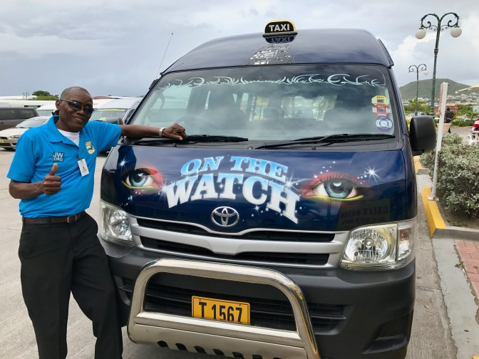 st kitts taxi driver