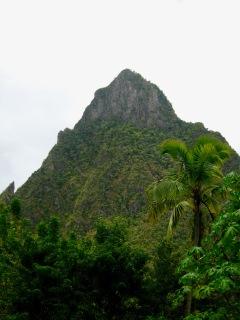 st lucia mountains