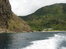 st lucia water taxi to jalousie
