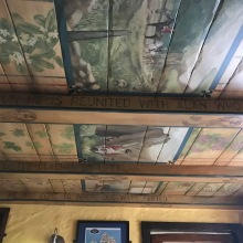love the painted ceilings <3