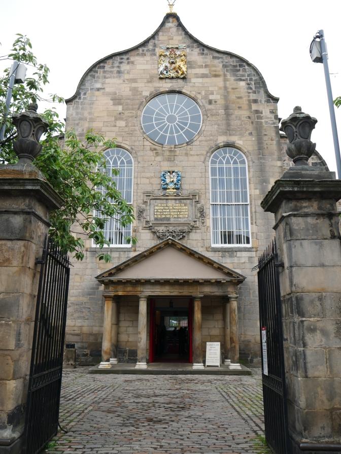 scotland edinburgh canongate kirk