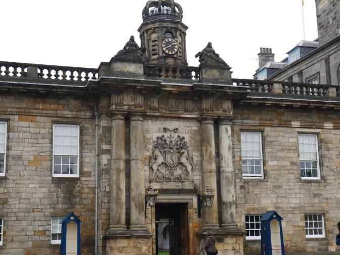scotland edinburgh holyrood facade
