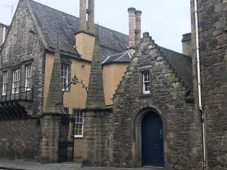 scotland edinburgh royal mile buildings