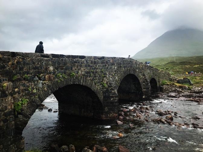 scotland skye sligachan bridge